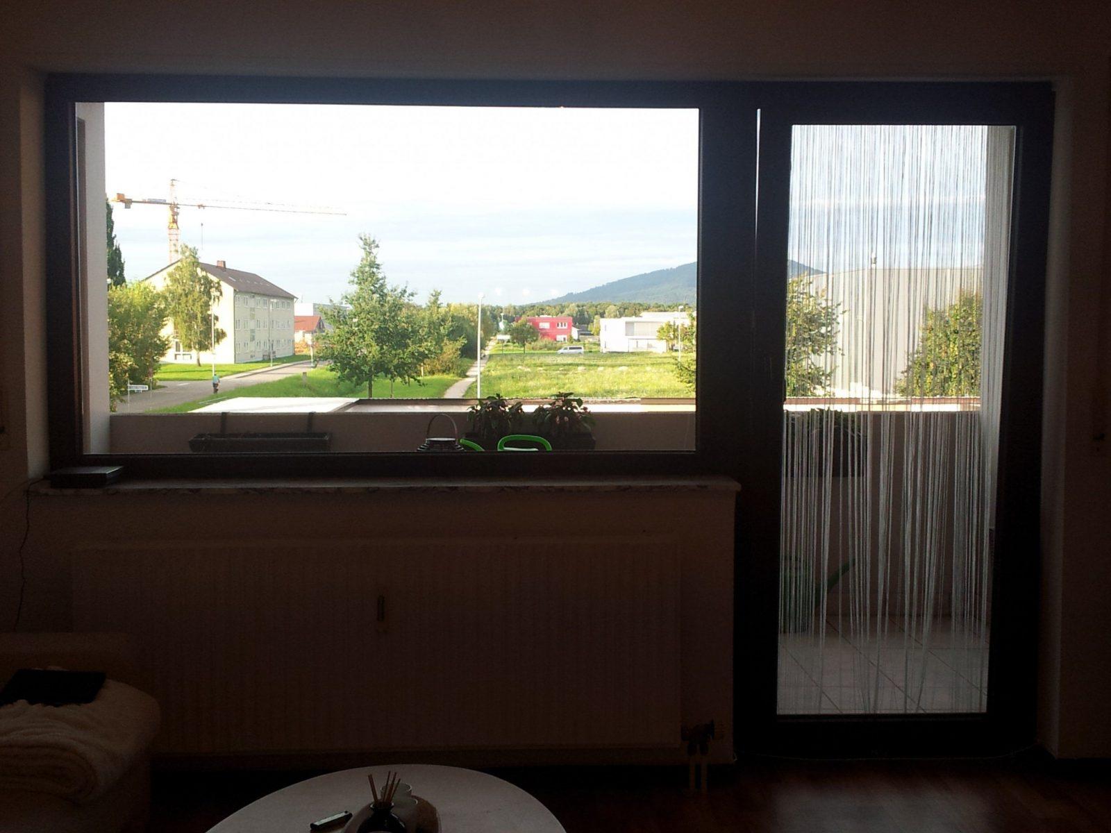 Hervorragend Gardinen Für Großes Fenster Mit Balkontür  Fenster von Gardinen Balkontür Und Fenster Photo