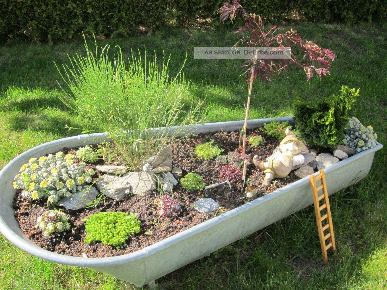Historische Baustoffe  Garten & Parkeinrichtung  Original Vor von Badewanne Für Den Garten Bild