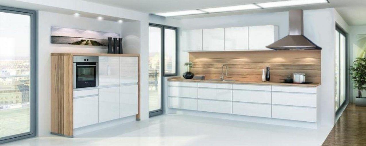 Hochglanzweiß Grifflos  Ihr Küchenpartner Holger Baake  Günstige von Küchenzeile Weiß Hochglanz Günstig Photo