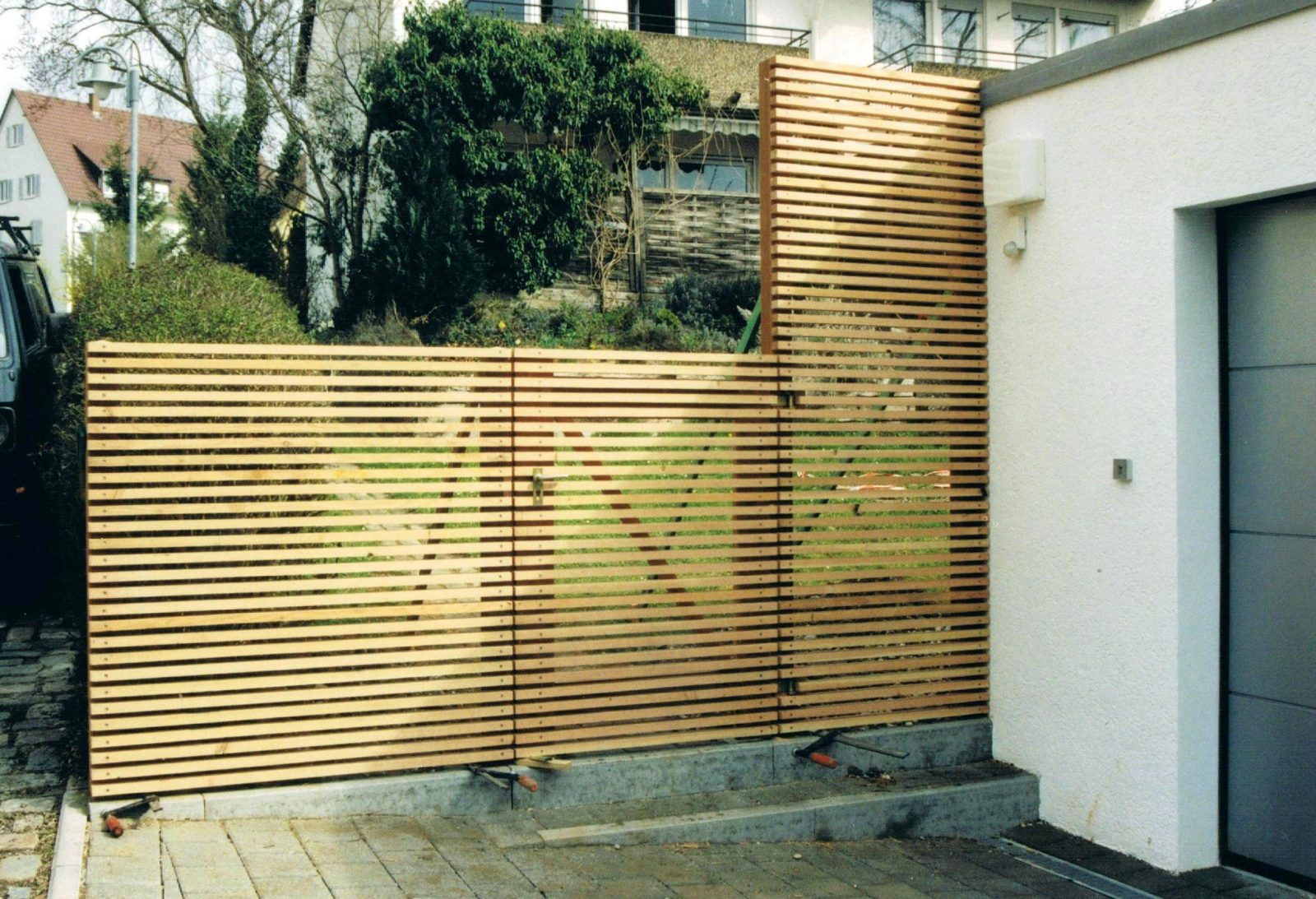 Hoftor Selber Bauen Gartentor Metall Anleitung Edelstahl Tor von Gartentor Aus Holz Bauen Photo