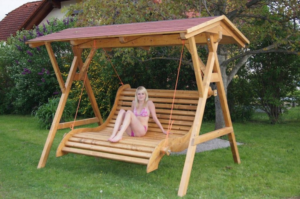 Hollywoodschaukel Holz Design Gartenschaukel Hollywood Schaukel Von von Hollywoodschaukel Selber Bauen Aus Holz Photo