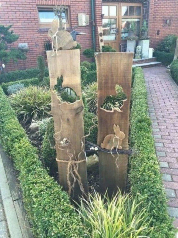 Holz Deko Garten Selber Machen Erstaunlich Deko Im Garten 85 Möbel von Deko Für Garten Selber Machen Bild
