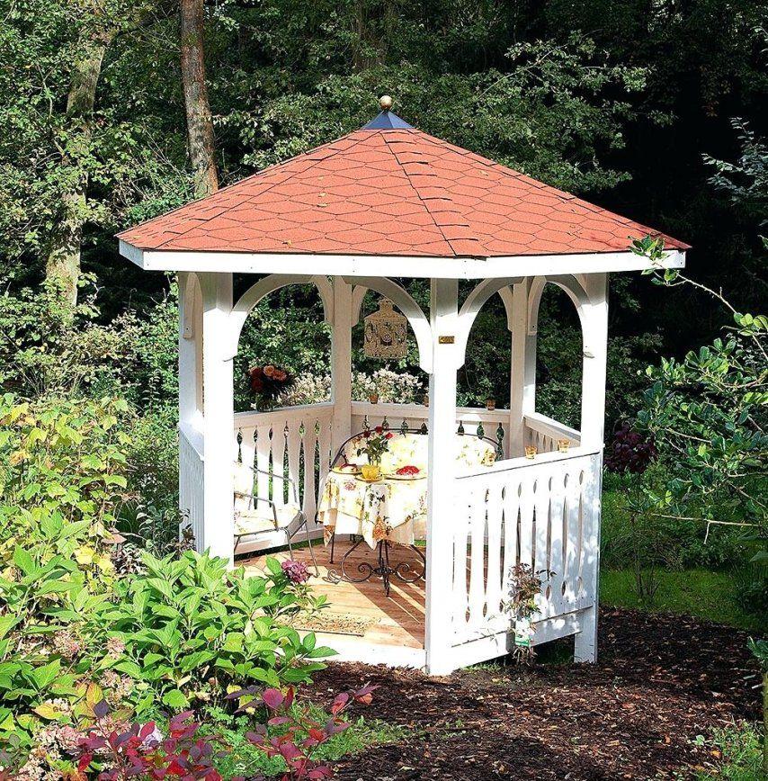 Holz Gartenpavillon Affordable Pavillon Klein Und Fein Steht Dieser von Gartenpavillon Selber Bauen Anleitung Photo
