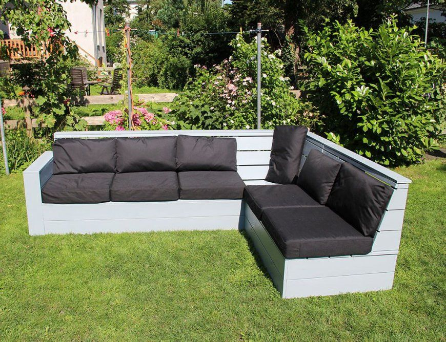 Holz Lounge Selber Bauen  Do It Yourself Lounge Couch Selber Bauen von Outdoor Lounge Selber Bauen Bild