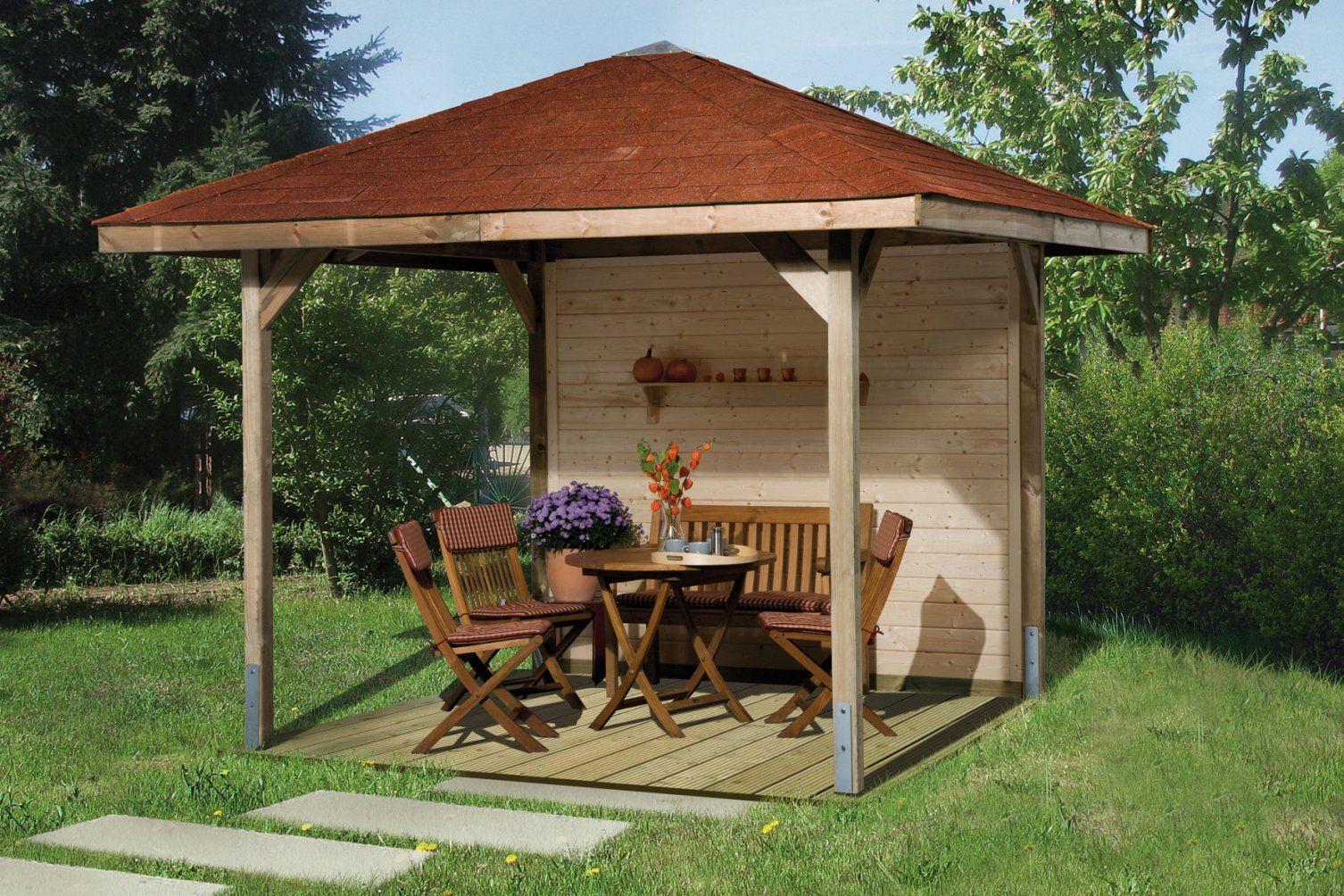 Holz Pavillon Fabulous Holz Pavillon Garten Fi Hitoiro Garten With von Pavillon 6 Eckig Holz Bild