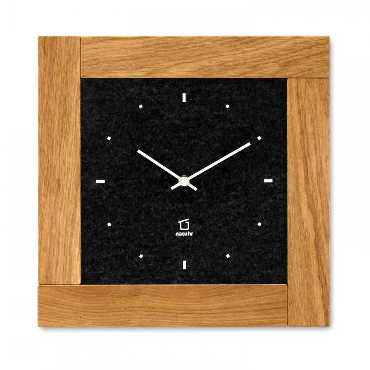 Holz Wanduhr Ams 211 4 Mit Pendel Mechanisch Eiche Heimuhr Pendeluhr von Wanduhr Aus Holz Selber Bauen Photo