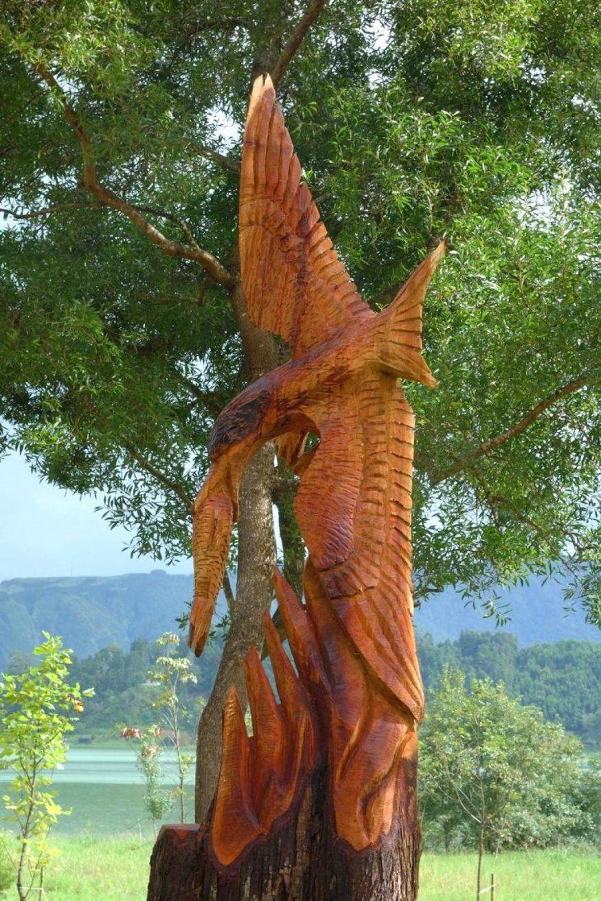 Holzfiguren Garten Awesome Holz Selber Basteln Suite With Fr Den von Holzfiguren Garten Selber Machen Bild