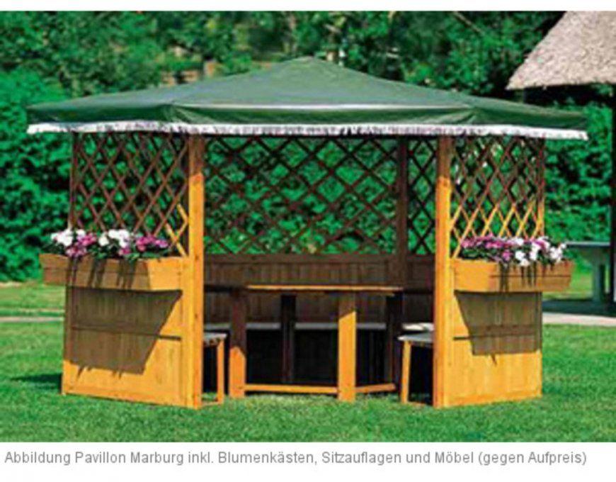 Holzpavillon 6Eckig Online Kaufen  Holzprofi24 von Pavillon 6 Eckig Holz Bild