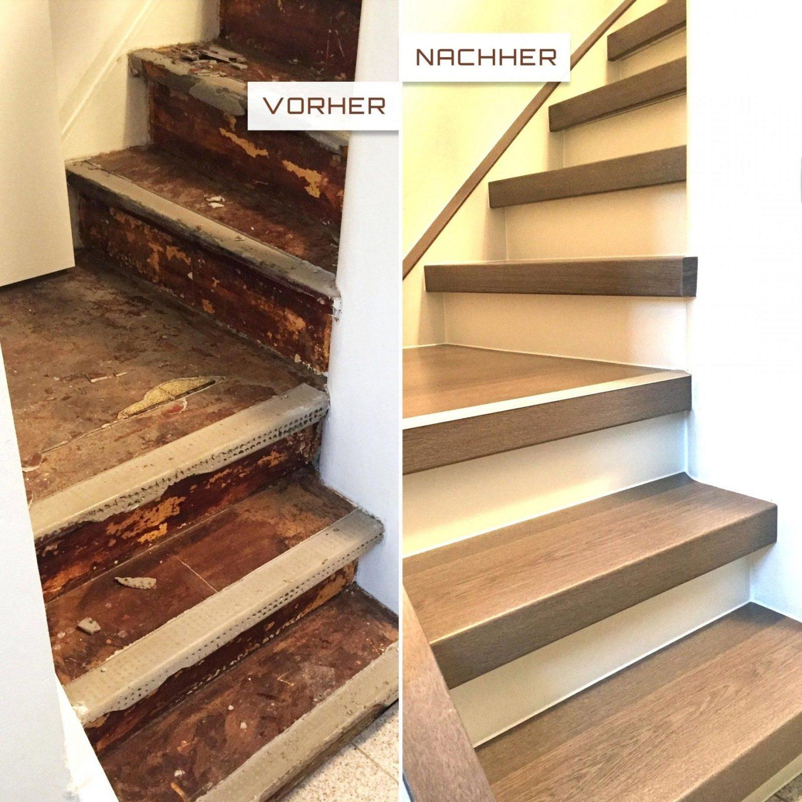 Holztreppe Rutschfest Machen Cool Treppen Renovieren Treppe Sanieren von Treppen Sanieren Selber Machen Photo