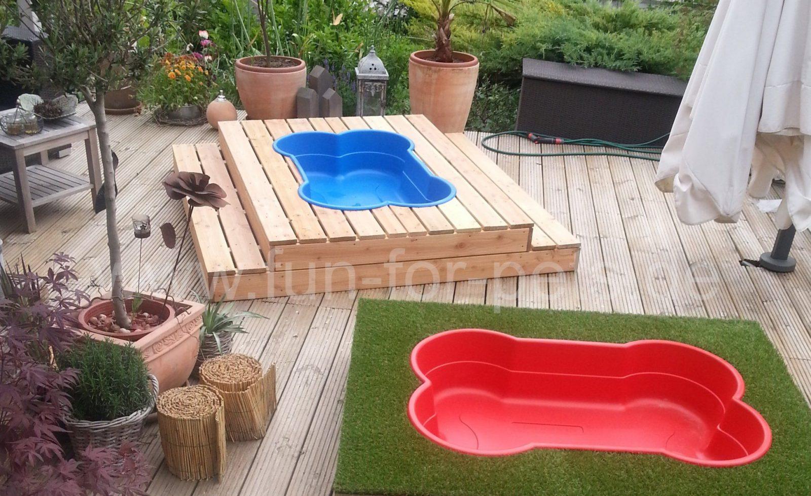 Hundepools In Knochenform Sind Nun Auch In Deutschland Erhältlich von Hunde Pool Selber Bauen Photo