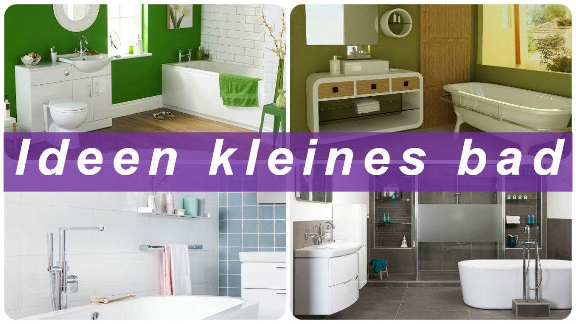 Ideen Kleines Bad  Youtube von Kleines Badezimmer Design Ideen Photo