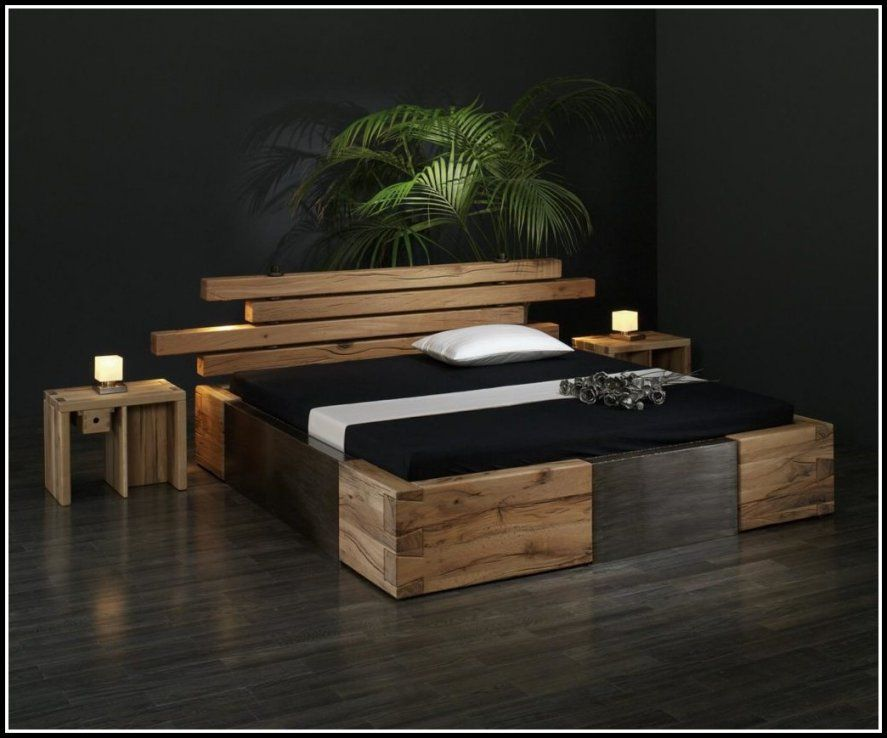 coole betten selber bauen haus design ideen. Black Bedroom Furniture Sets. Home Design Ideas
