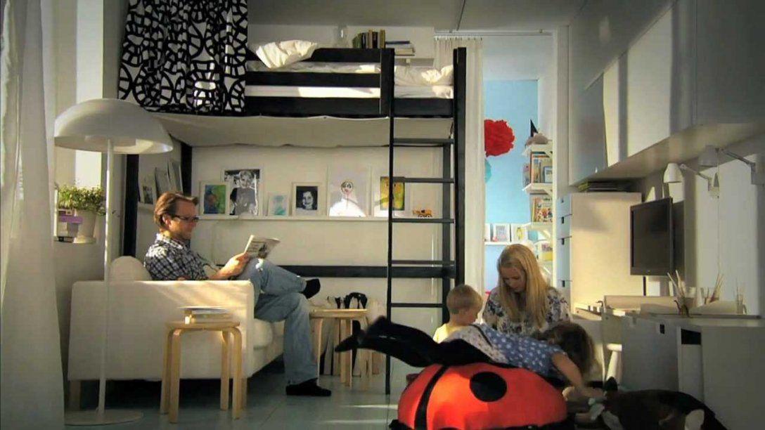 Ikea Für Kleine Räume Clevere Ideen Für Mehr Platz  Youtube von 30 Qm Wohnung Einrichten Photo
