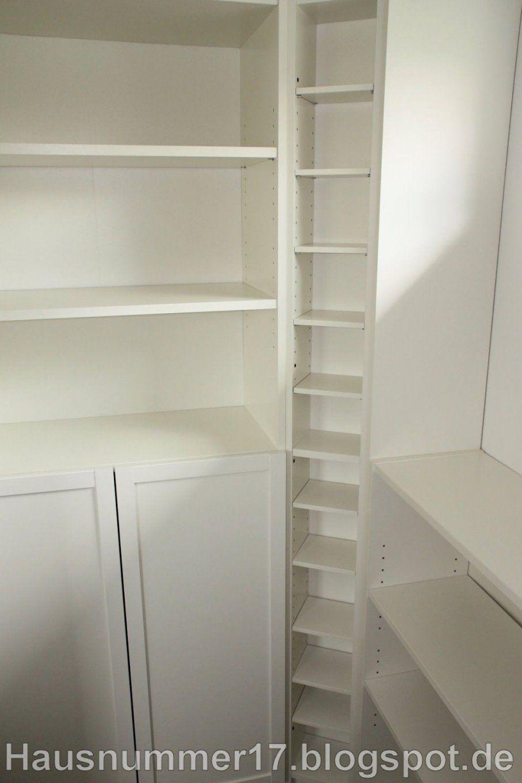 Ikea Hack Einrichten Der Abstellkammer  Speisekammer Im Selbstbau von Speisekammer Regal Selber Bauen Bild