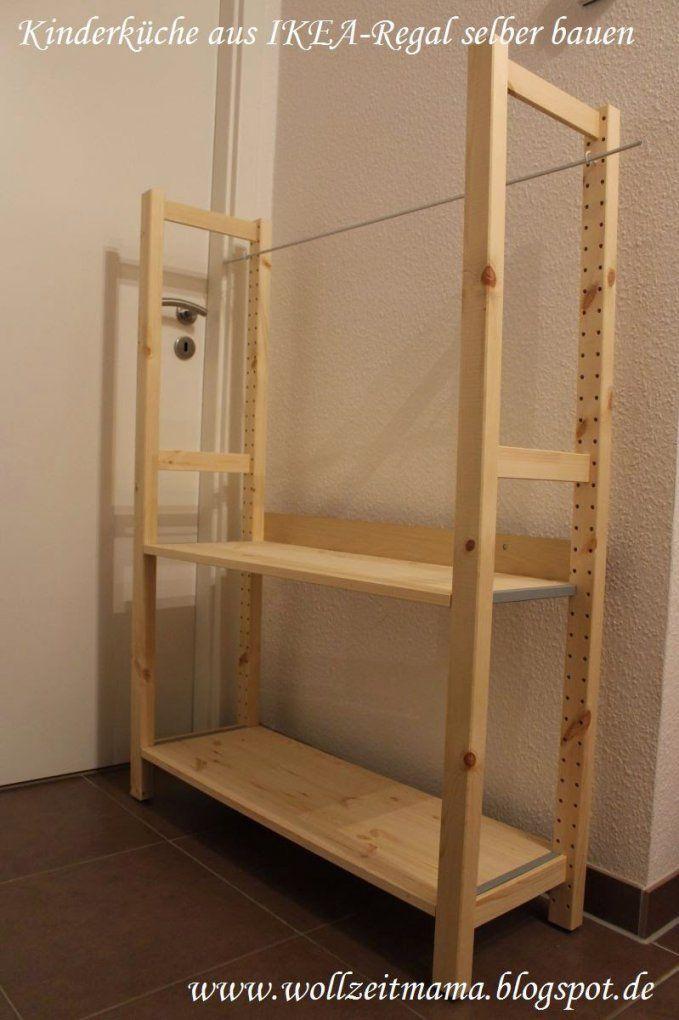 Ikea Küche Anleitung von Ikea Ivar Regal Montageanleitung Bild