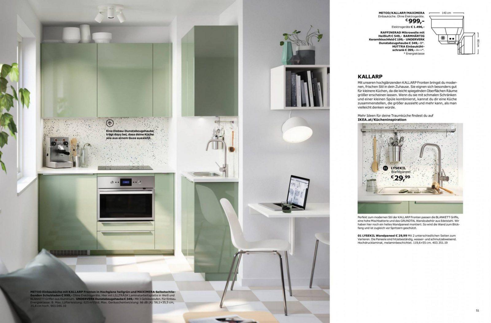 Ikea Küchenbroschüre 2018 von Ikea Küchenzeile Mit Elektrogeräten Photo
