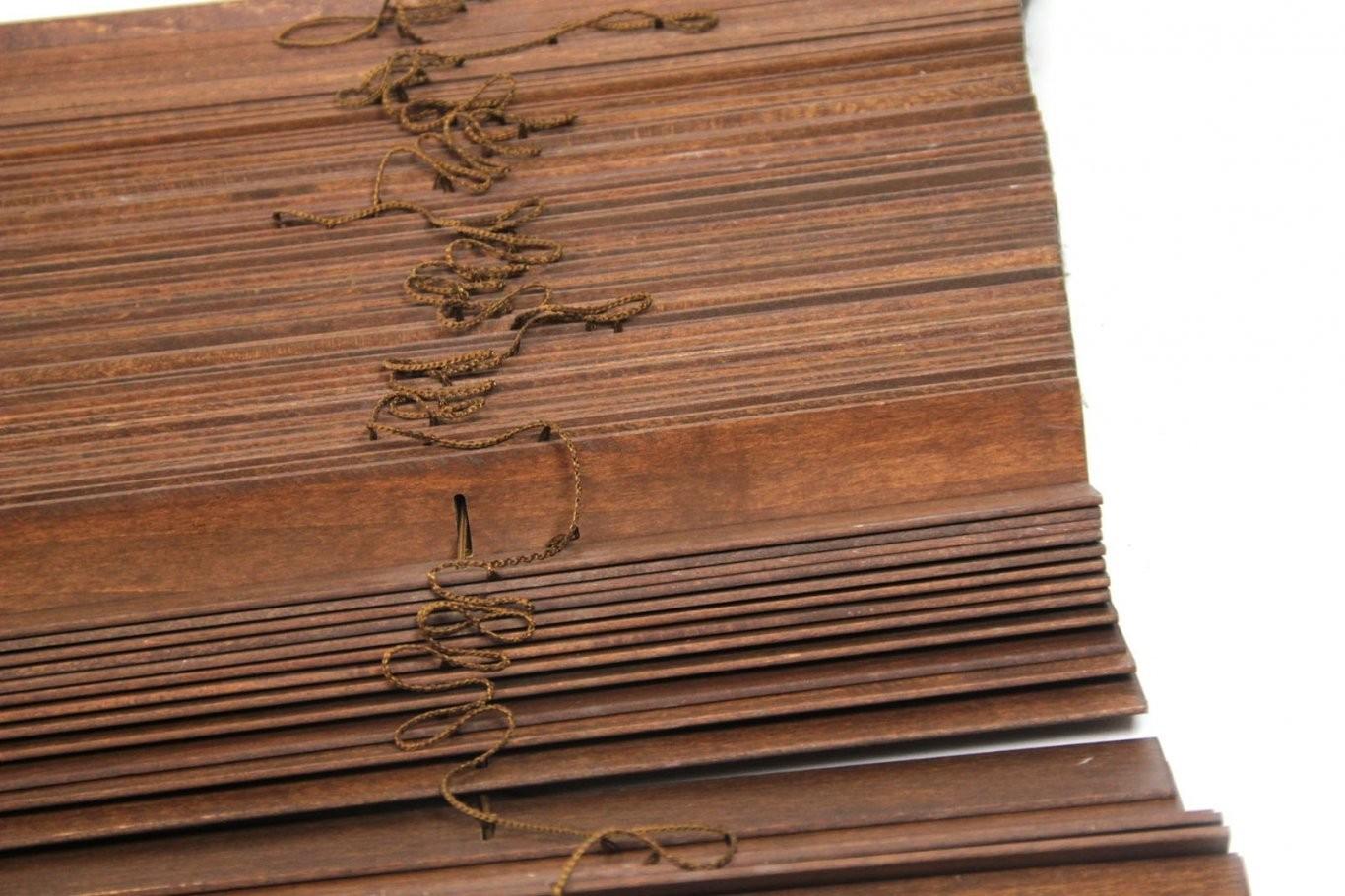 Ikea Lindmon Holzjalousie 100X250Cm Holz Jalousie Ist Oberteil von Jalousien Holz Dänisches Bettenlager Bild