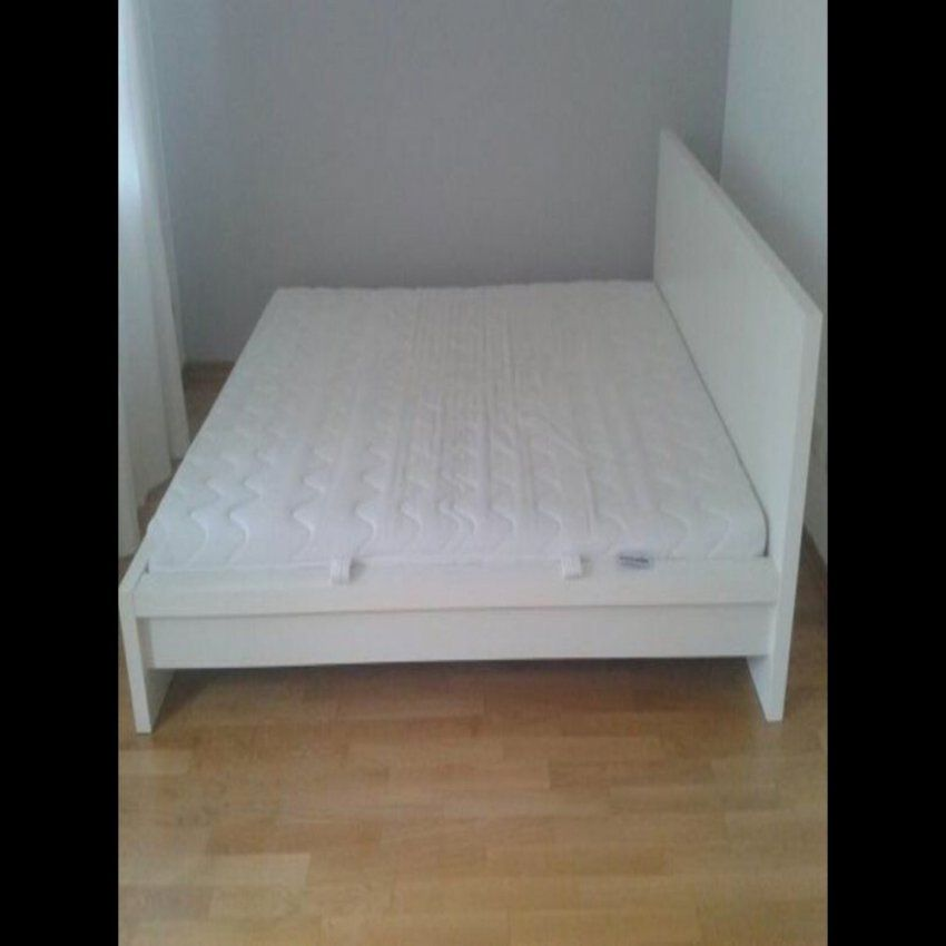 Ikea Malm Bett Beabsichtigt Für Aktuell Haushalt – Ambernight von Ikea Malm Bett 160X200 Birke Bild