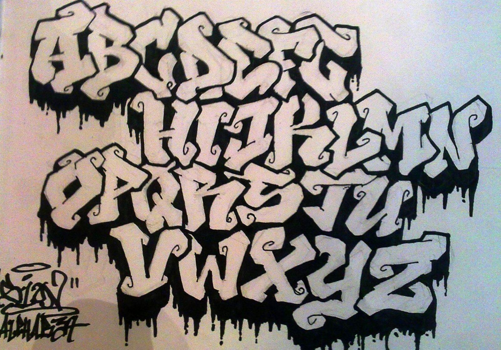 Image Result For Graffiti Vorlagen  Fonts & Crafts  Pinterest von Graffiti Buchstaben Vorlagen Az Photo