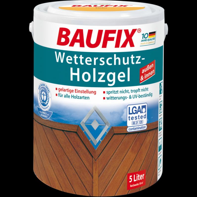 Innenarchitektur  Ehrfürchtig Baufix Wetterschutz Holzgel Baufix von Artico Wetterschutz Holzgel Palisander Bild