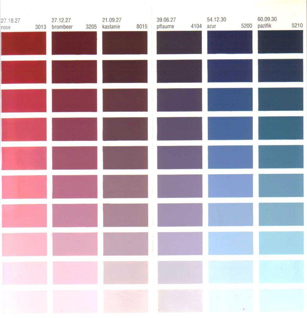 Inspiration Wandfarben Selber Mischen Tabelle Und Wunderbare von Ral Farben Selber Mischen Photo