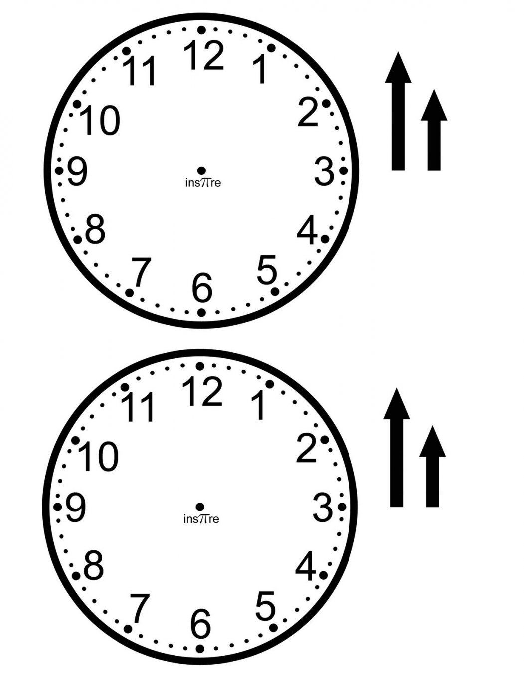 Ins'pi're Math Make Your Own Class Set Of Clocks von Make Your Own Clock Photo