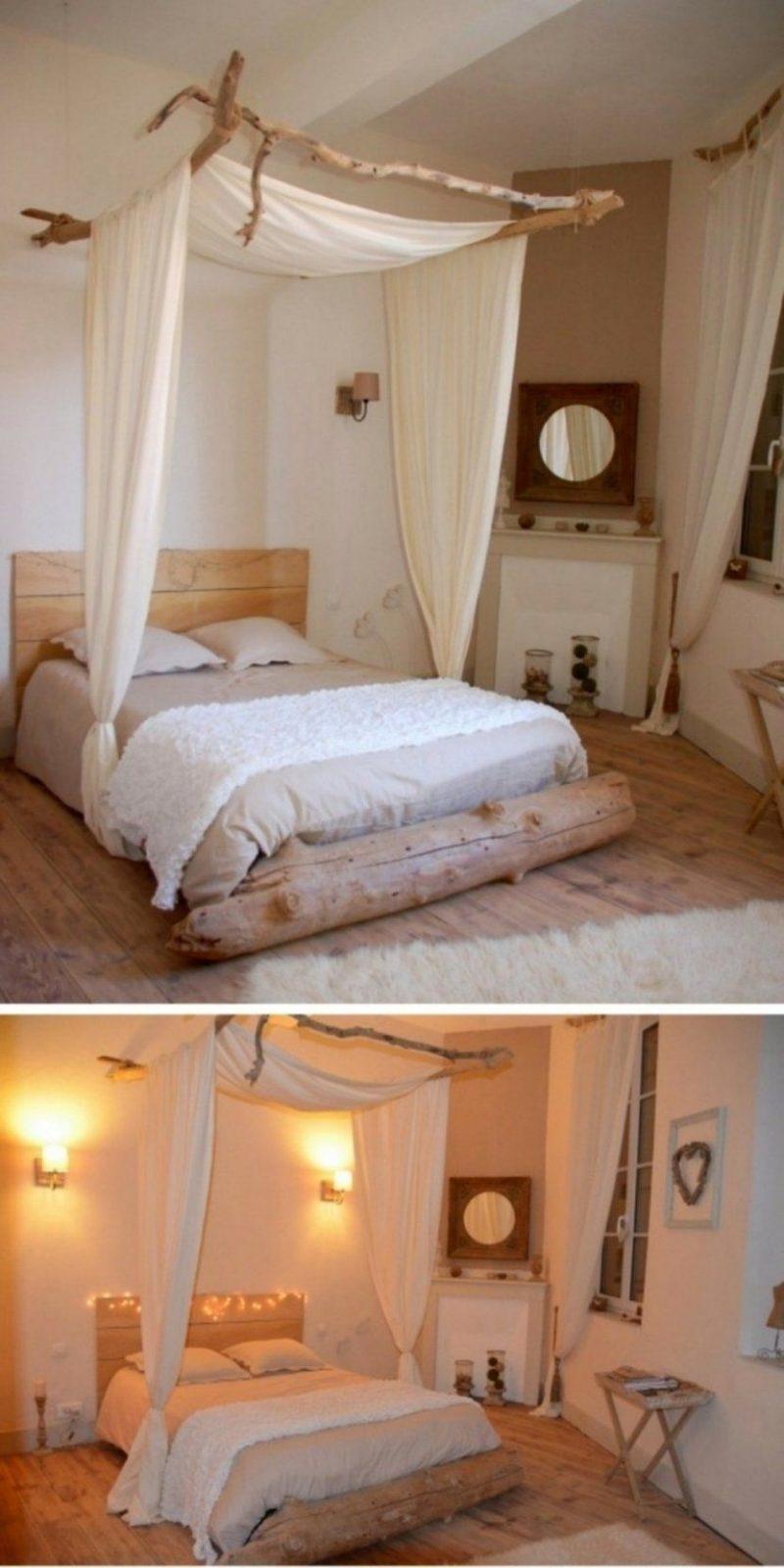 Interessant Himmel Bett – Illuminode Zum Himmelbett Bauen von Himmelbett Vorhang Selber Machen Bild