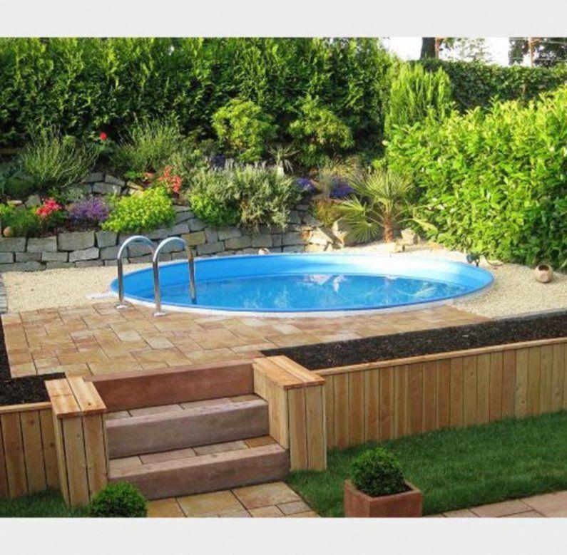 Interessant Schöne Dekoration Pool Im Garten Integrieren von Pool Im Garten Integrieren Photo