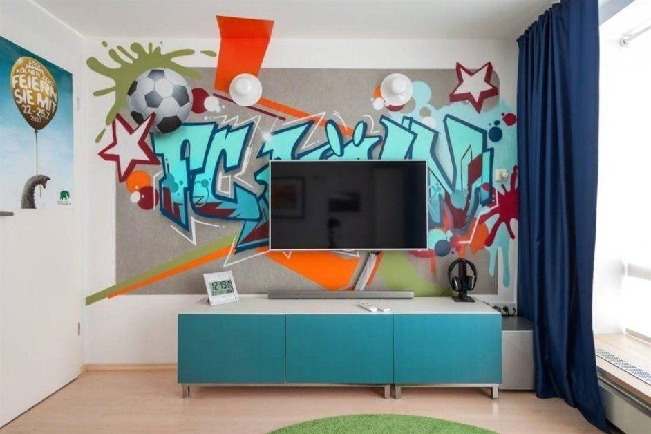 Jugendzimmer Gestalten Jungen Faszinierend Auf Dekoideen Fur Ihr von Wandtattoo Jugendzimmer Jungen Graffiti Photo
