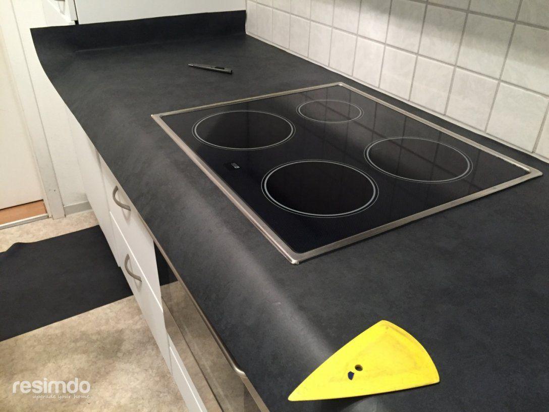 Keukenblad Wrappen (Bilder Kleuren Keuken Meubel )  Resimdo von Arbeitsplatte Mit Folie Bekleben Bild