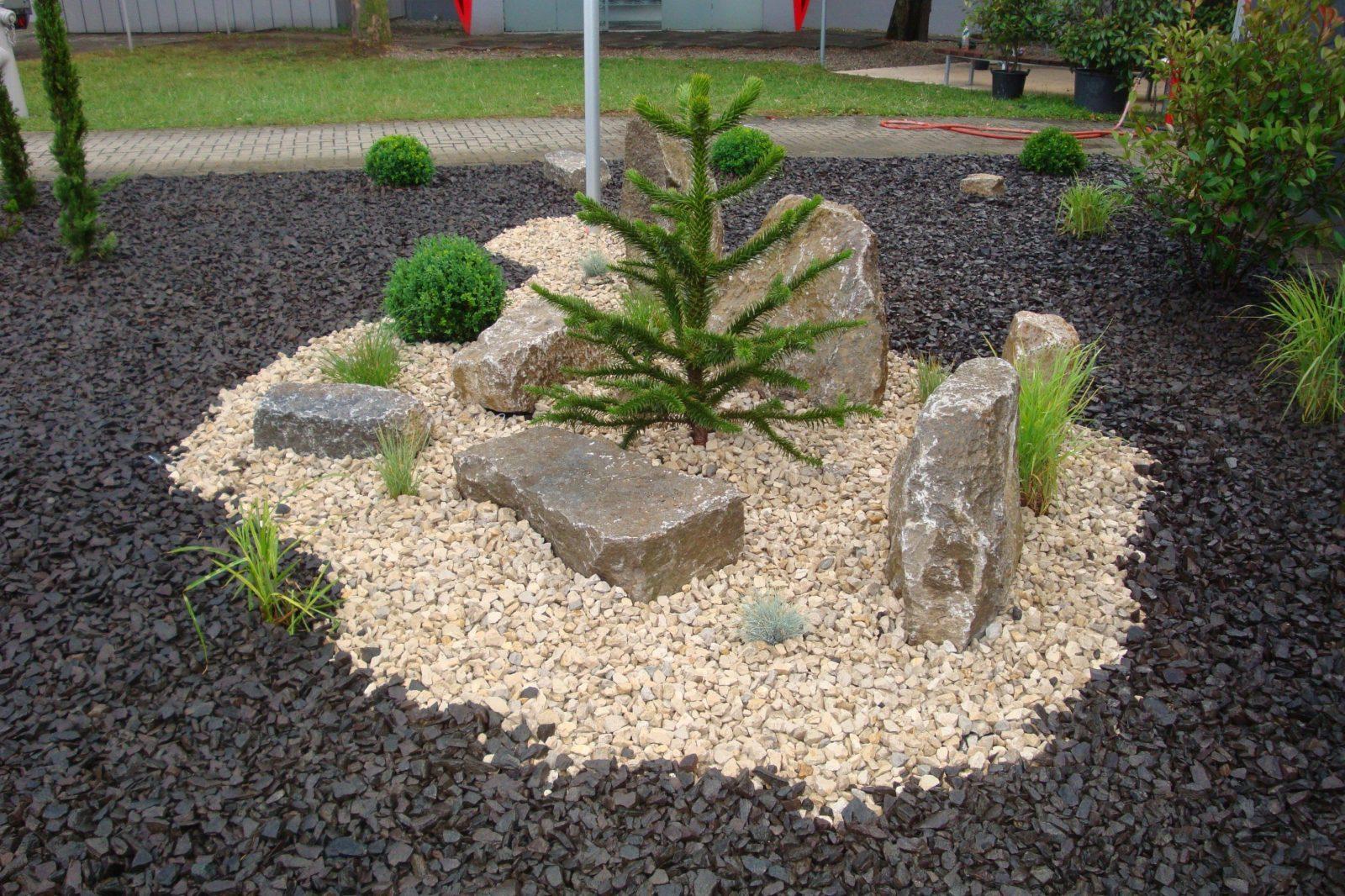Kies Und Splitt  Cremer Natursteinimport Aschaffenburg von Gartengestaltung Mit Kies Und Splitt Photo