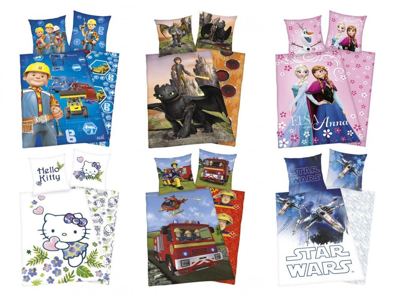 Kinder Renforcéwendebettwäsche 135X200Cm  Lidl Deutschland  Lidl von Star Wars Bettwäsche Lidl Bild