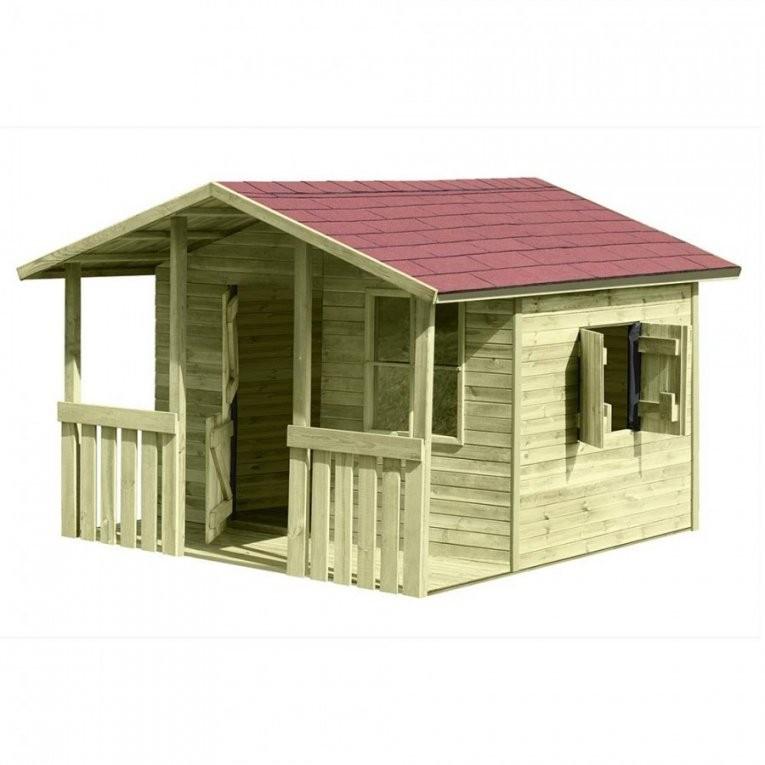 Kinder Spielhaus Lisa Aus Holz Gartenhaus Holzhaus Ist Frisch von Spielhaus Holz Selber Bauen Photo