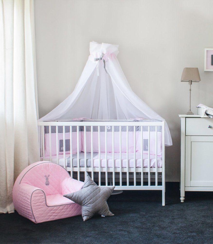 Kinderbett Mit Himmel Great Betthimmel Babybett Kinderbett Himmel von Himmel Für Kinderbett Selber Machen Bild
