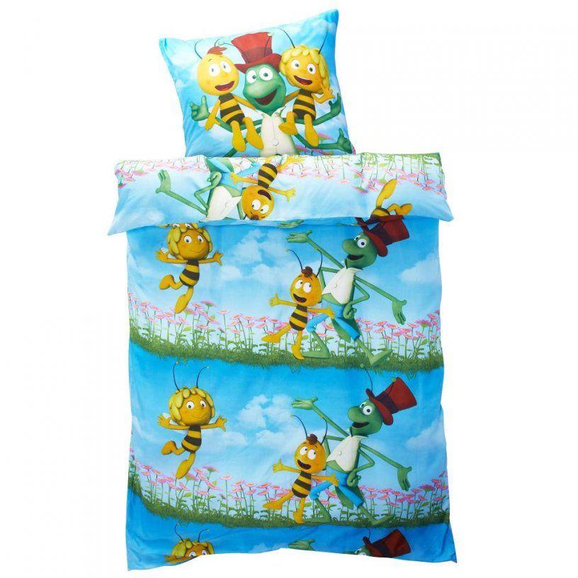 Kinderbettwäsche Biene Maja (135X200)  Dänisches Bettenlager von Biene Maja Bettwäsche 100X135 Photo