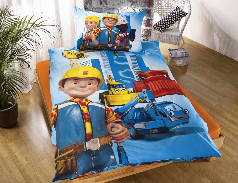 Kinderbettwäsche Bob Der Baumeister Günstig ⋆ Lehner Versand von Bob Der Baumeister Bettwäsche Bild