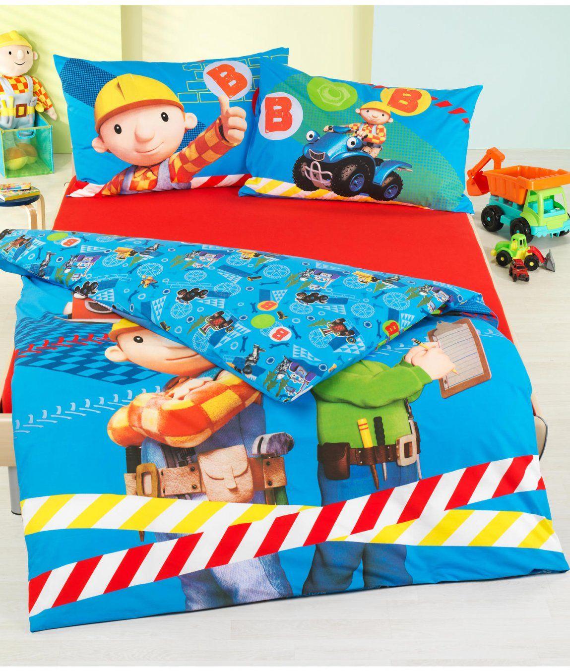 Kinderbettwäsche Garnitur Bob Der Baumeister Kaufen  Angela von Bob Der Baumeister Bettwäsche Photo