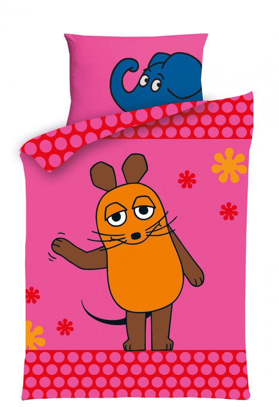 Kinderbettwäsche Pink Sendung Mit Der Maus – Babybettwäsche Wdrshop von Sendung Mit Der Maus Bettwäsche Photo