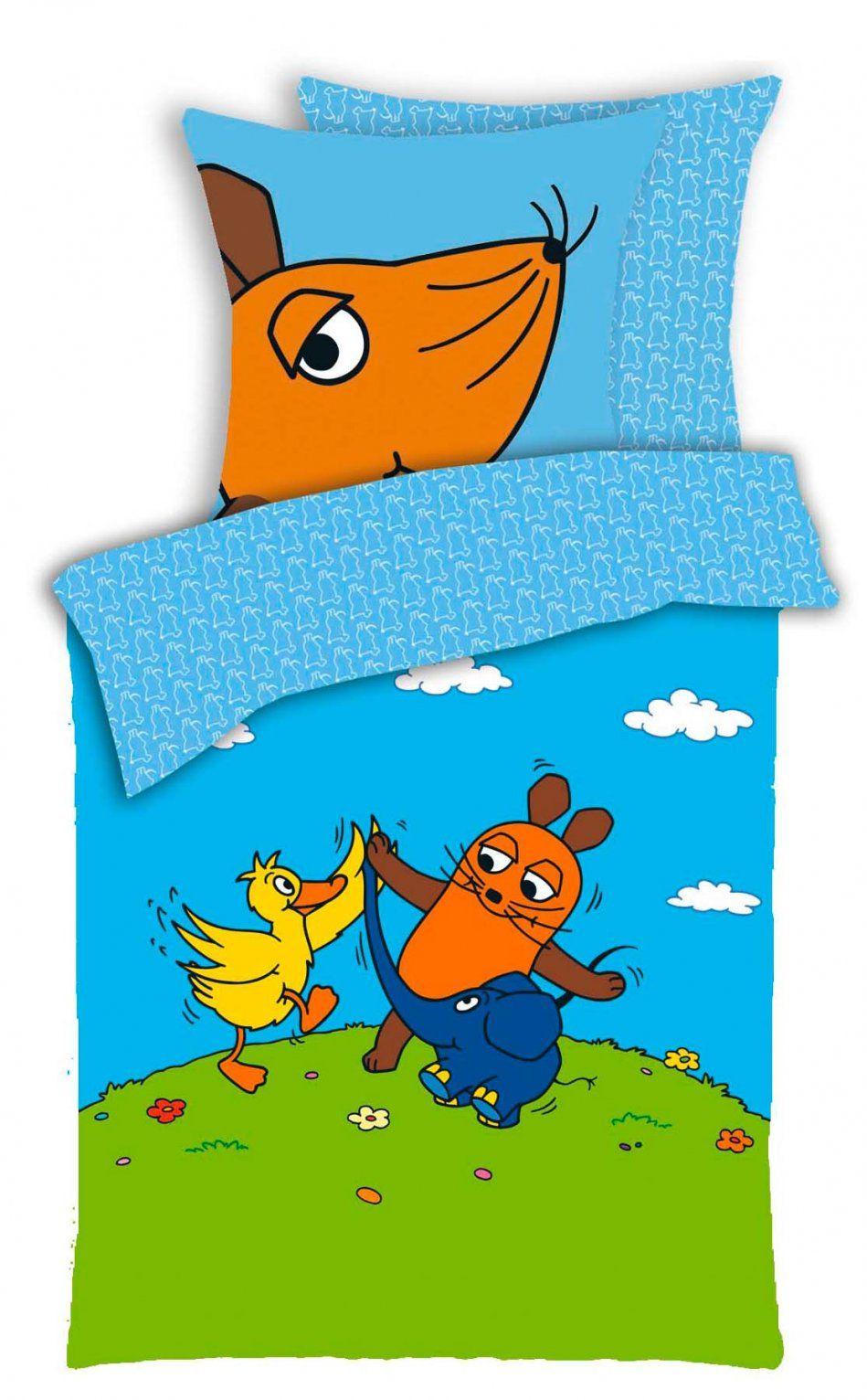 Kinderbettwäsche Sendung Mit Der Maus Tanz Mit Freunden von Sendung Mit Der Maus Bettwäsche Bild