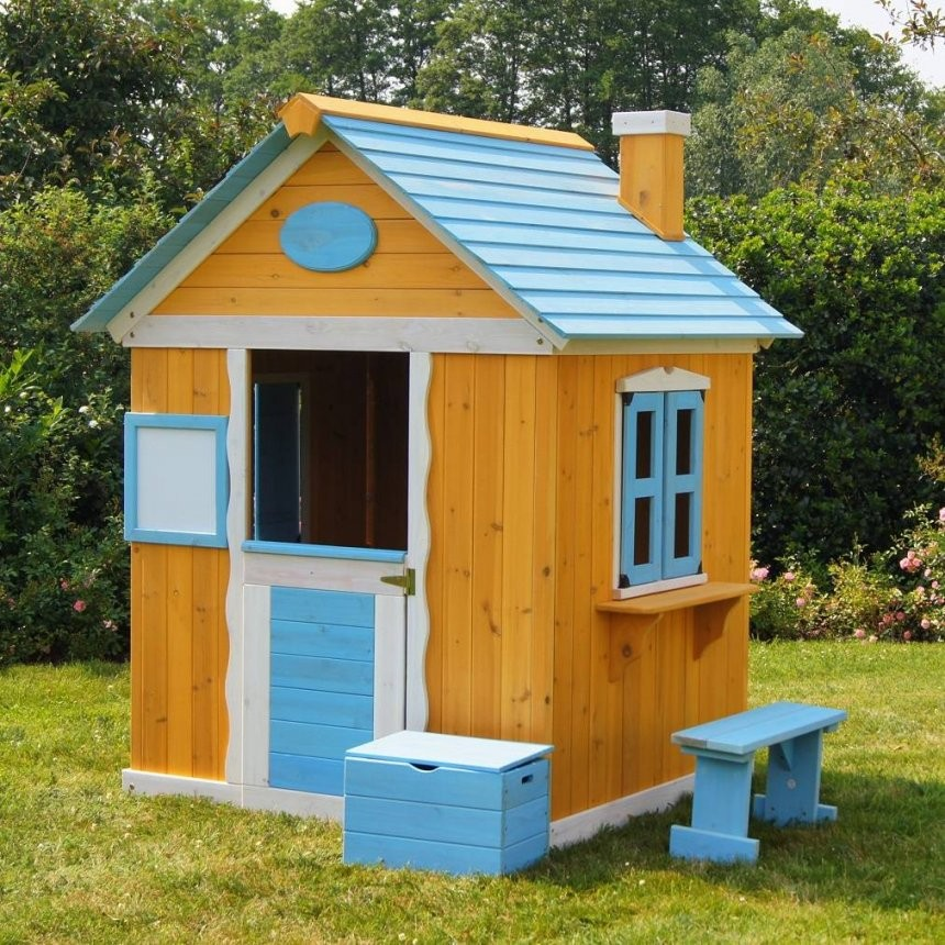 Kinderspielhaus Gartenhaus Spielhaus Für Kinder Aus Holz Von von Gartenhaus Kinder Selber Bauen Photo
