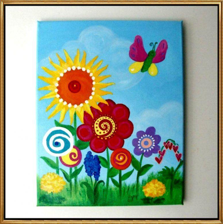 Kinderzimmer Bilder Fur Babyzimmer Auf Leinwand Selber Malen Avec von Bilder Für Kinderzimmer Auf Leinwand Selber Malen Bild