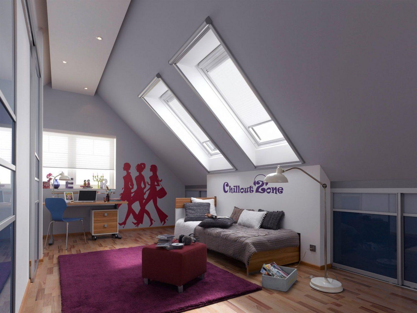 Kinderzimmer Dachschräge Streichen Wunderbar Auf Dekoideen Fur Ihr von Kinderzimmer Mit Dachschräge Gestalten Bild