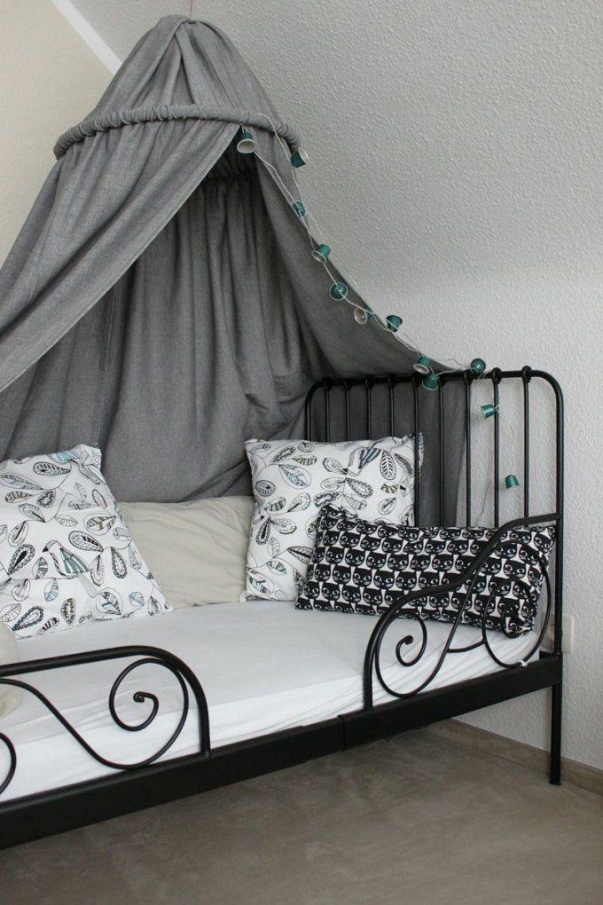 Kinderzimmer Diy Baldachin Zelt Hölle Himmelbett Kuschelecke von Baldachin Nähen Für Kinderzimmer Bild