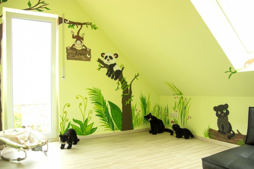 Kinderzimmer Farben Madchen Mit Wandgestaltung Farbe Kinderzimmer Von Wandgestaltung  Kinderzimmer Mit Farbe Bild