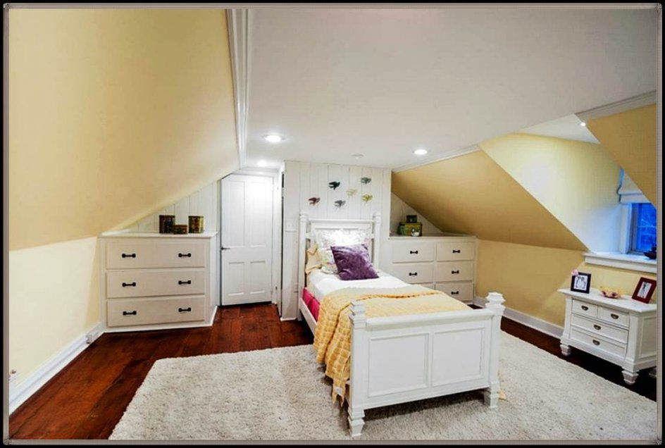 Kinderzimmer Mit Dachschräge Farblich Gestalten  Haus Referenz von Kinderzimmer Mit Dachschräge Gestalten Photo