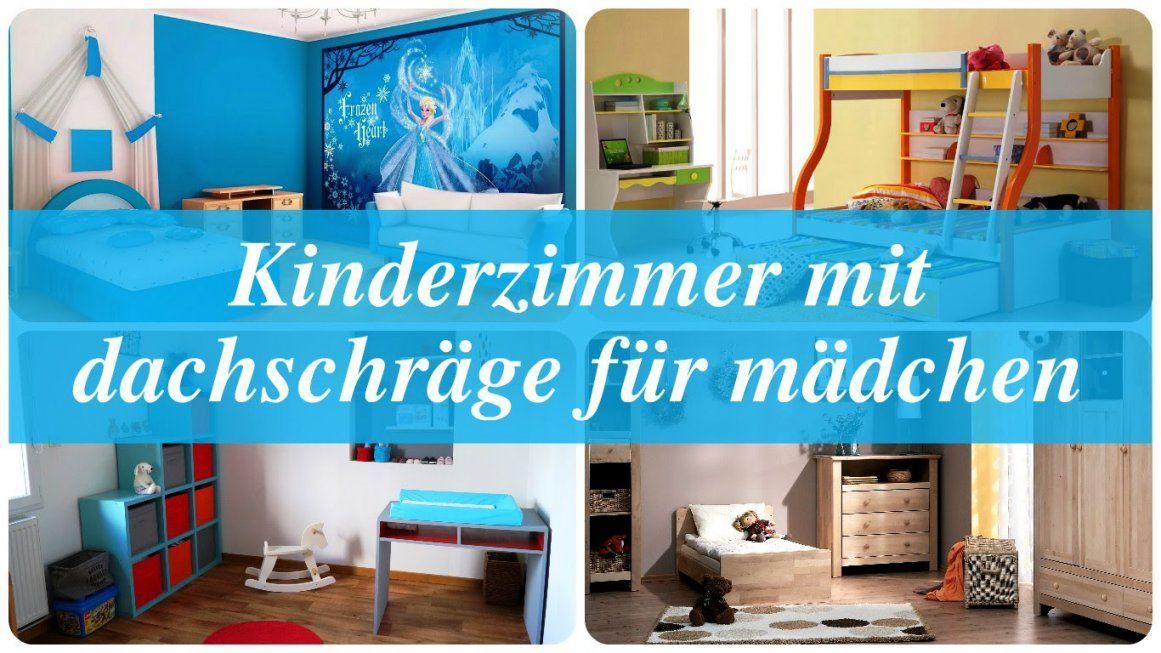 Kinderzimmer Mit Dachschräge Für Mädchen  Youtube von Kinderzimmer Mit Dachschräge Gestalten Photo