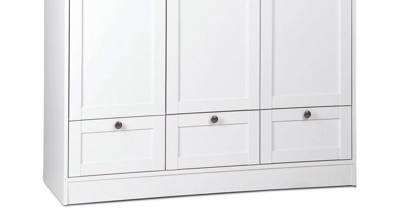 Kleiderschrank Landwood Drehtürenschrank In Weiß 3Türig Landhausstil von Schrank Weiß 120 Breit Photo