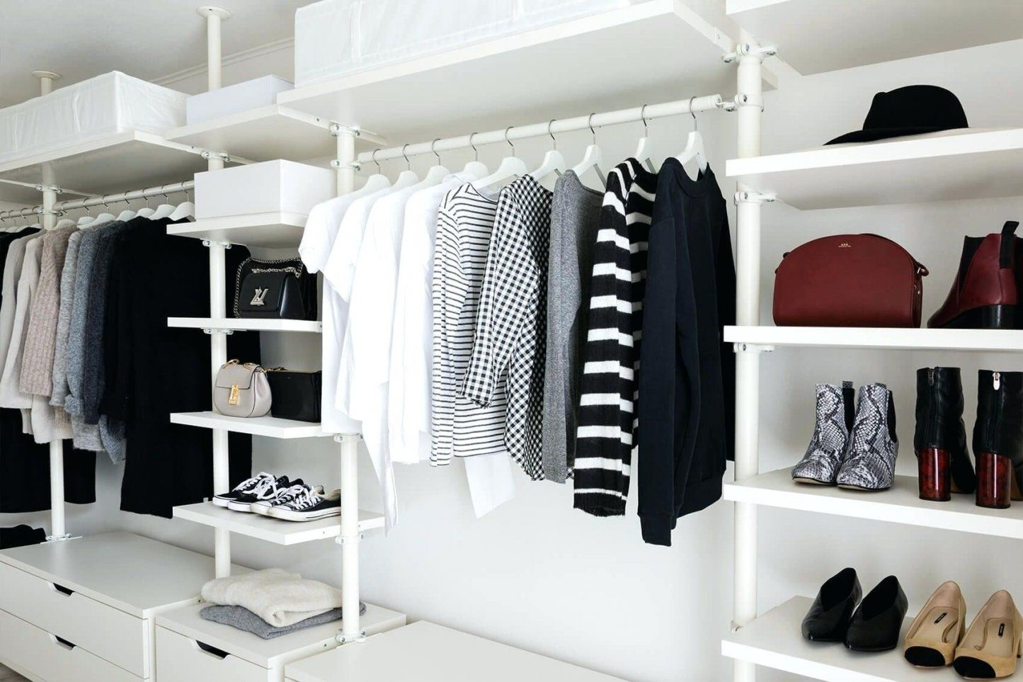 Kleiderschranksystem Offen Offener Kleiderschrank Ikea Feinste von Offenen Kleiderschrank Selber Bauen Bild