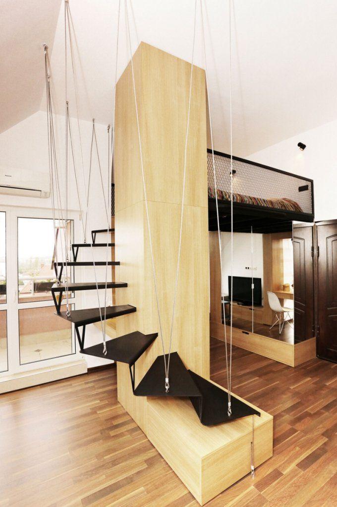 Kleine Räume Einrichten  Minimalistisches Design Aus Holz von Betten Für Kleine Räume Photo