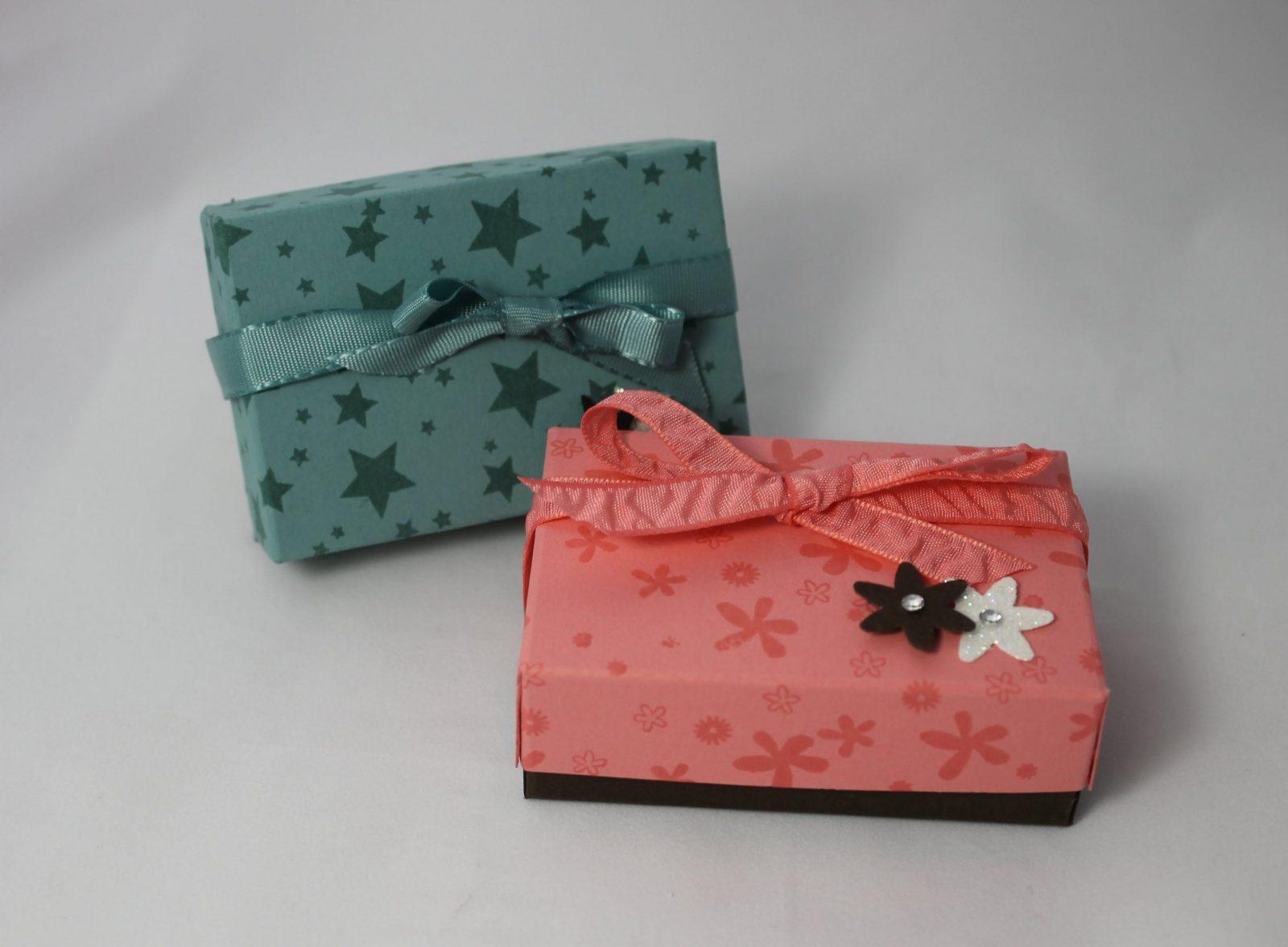 Kleine Schachtel  Box  Anleitung Stampin` Up Produkte  Youtube von Kleine Schachteln Selber Basteln Photo